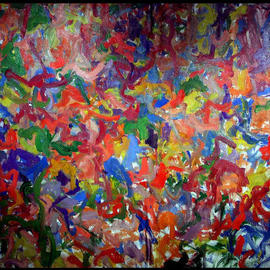 Artist Private Nyc Garden, Richard Lazzara