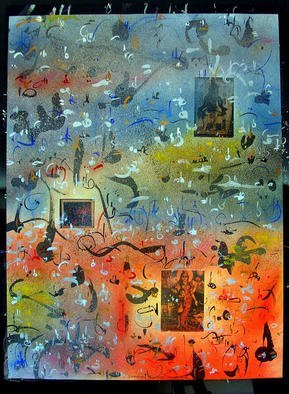 Richard Lazzara Artwork ASPECTS SIVA LINGAM, 1985 Mixed Media, Inspirational