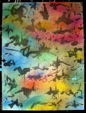 Richard Lazzara Artwork COME TO REALIZE, 1985 Mixed Media, Inspirational