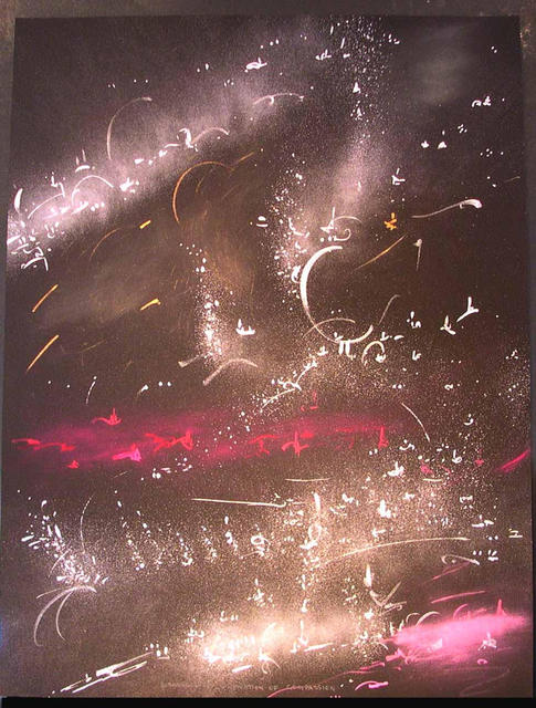 Richard Lazzara  'CULTIVATION OF COMPASSION', created in 1986, Original Pastel.