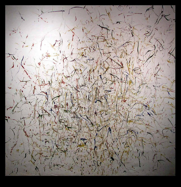 Artist Richard Lazzara. 'DIFFERENT STROKES NETWORK' Artwork Image, Created in 1972, Original Pastel. #art #artist