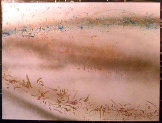 Richard Lazzara Artwork DIVIDED PULSE, 1984 Mixed Media, Inspirational