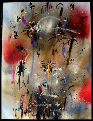 Artist: Richard Lazzara - Title: DURABILITY - Medium: Calligraphy - Year: 1984