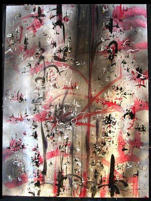 Artist: Richard Lazzara - Title: DYNAMICS - Medium: Calligraphy - Year: 1984