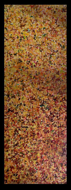 Richard Lazzara  'FOR IKENO TAIGA', created in 1974, Original Pastel.