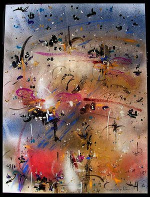 Artist: Richard Lazzara - Title: FRESH - Medium: Calligraphy - Year: 1984