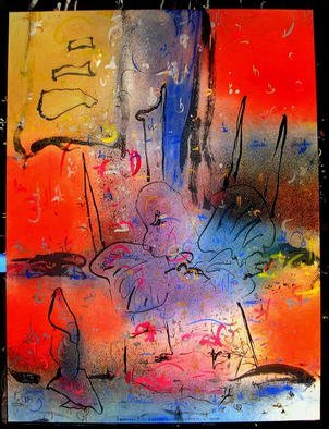 Richard Lazzara Artwork GARUDA CHORTEN LINGAM, 1985 Mixed Media, Inspirational