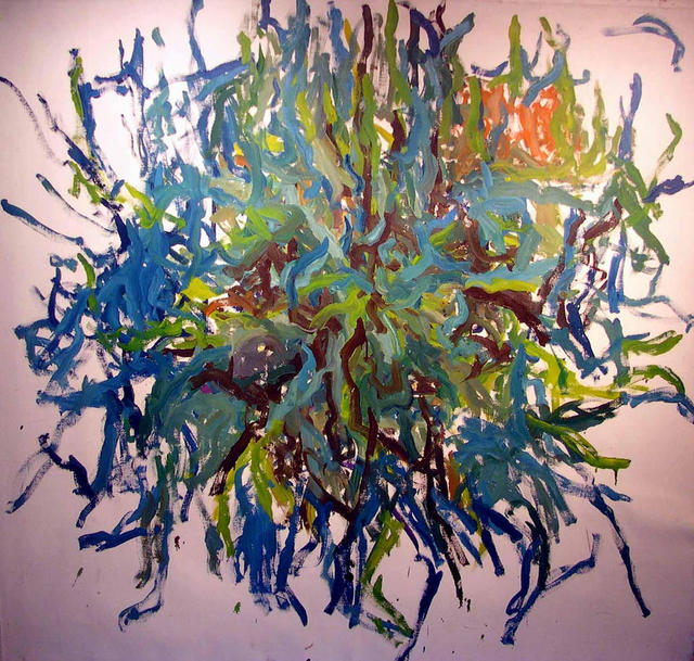 Richard Lazzara  'GORDIAN KNOT', created in 1972, Original Pastel.