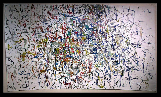 Richard Lazzara  'JUNGLEY DREAMS', created in 1972, Original Pastel.
