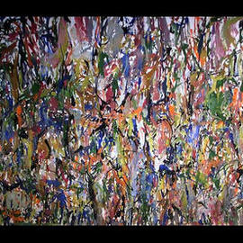 JUNGLEY WIDE PANORAMA  By Richard Lazzara