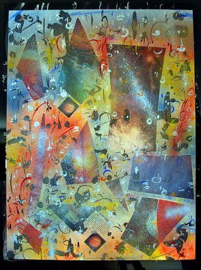 Richard Lazzara Artwork JUPITER MOTION, 1985 Mixed Media, Inspirational