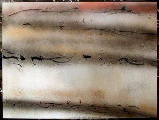 Richard Lazzara Artwork LEVELS BETWEEN US, 1984 Mixed Media, Inspirational