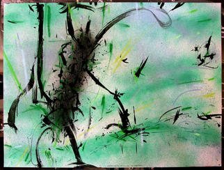 Richard Lazzara Artwork LIFE IN WATER, 1984 Mixed Media, Inspirational