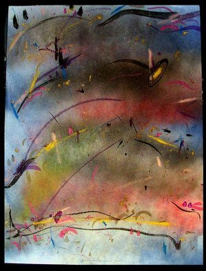 Artist: Richard Lazzara - Title: LIGHT SPOT - Medium: Calligraphy - Year: 1984