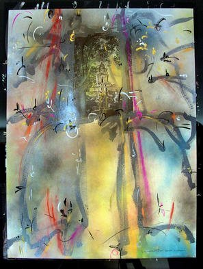Richard Lazzara Artwork LINGAM GOLD, 1985 Mixed Media, Inspirational