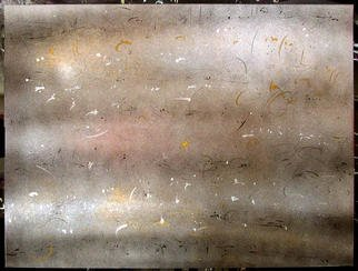 Richard Lazzara Artwork LOOKING ABOVE THE WINDS, 1984 Mixed Media, Inspirational