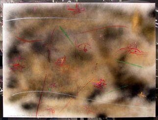 Richard Lazzara Artwork MERCURY VENUS EARTH, 1984 Mixed Media, Inspirational