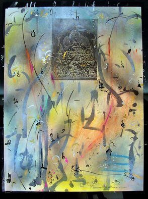 Richard Lazzara Artwork NATARAJA SUMERU, 1985 Mixed Media, Inspirational