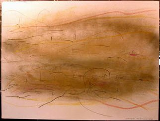 Richard Lazzara Artwork NEBULA ARM SWINGS BY, 1984 Mixed Media, Inspirational