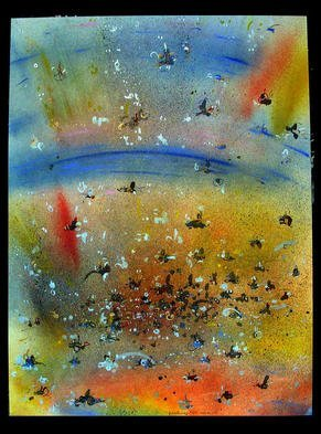Richard Lazzara Artwork OVER IT, 1985 Mixed Media, Inspirational