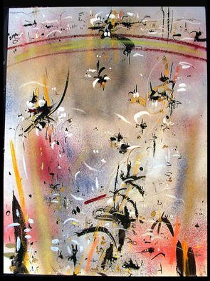 Artist: Richard Lazzara - Title: OZONE LAYER - Medium: Calligraphy - Year: 1984