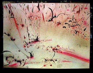 Richard Lazzara Artwork PARTICLE CLOUD, 1984 Mixed Media, Inspirational