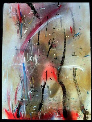 Artist: Richard Lazzara - Title: PEAK - Medium: Calligraphy - Year: 1984
