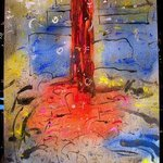 POLE AND FLAGS By Richard Lazzara