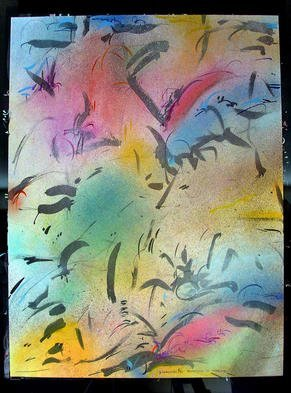 Richard Lazzara Artwork PUTTING IT THERE, 1985 Mixed Media, Inspirational