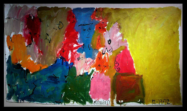 Richard Lazzara  'REALITY JACK IN THE BOX', created in 1972, Original Pastel.