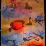 RED BUBBLE By Richard Lazzara