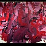 Red Night Orchids, Richard Lazzara