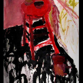 Red Stool, Richard Lazzara