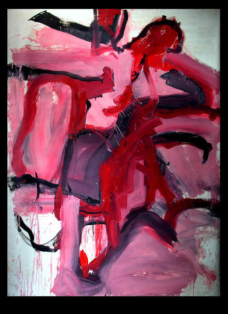 Richard Lazzara  'RED WINE DAY', created in 1973, Original Pastel.