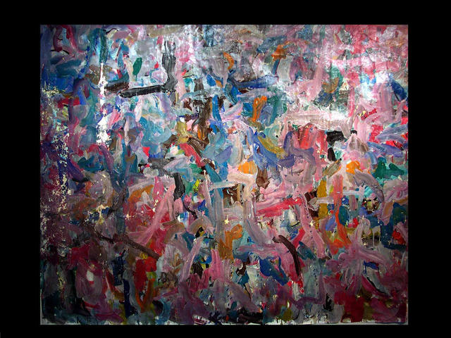 Richard Lazzara  'ROCK ART', created in 1972, Original Pastel.