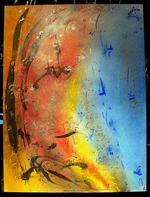 Richard Lazzara Artwork SATURN RINGS, 1985 Mixed Media, Inspirational