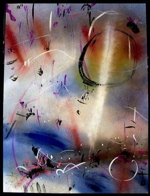 Artist: Richard Lazzara - Title: SHEATHED - Medium: Calligraphy - Year: 1984