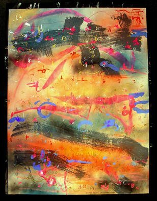 Artist: Richard Lazzara - Title: SIVA GREATER GOD - Medium: Calligraphy - Year: 1987