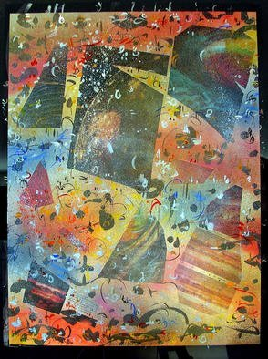Richard Lazzara Artwork SPACE GALLERY, 1985 Mixed Media, Inspirational