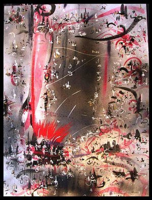 Artist: Richard Lazzara - Title: STEEL - Medium: Calligraphy - Year: 1984