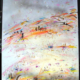 STREAMERS ABOVE By Richard Lazzara