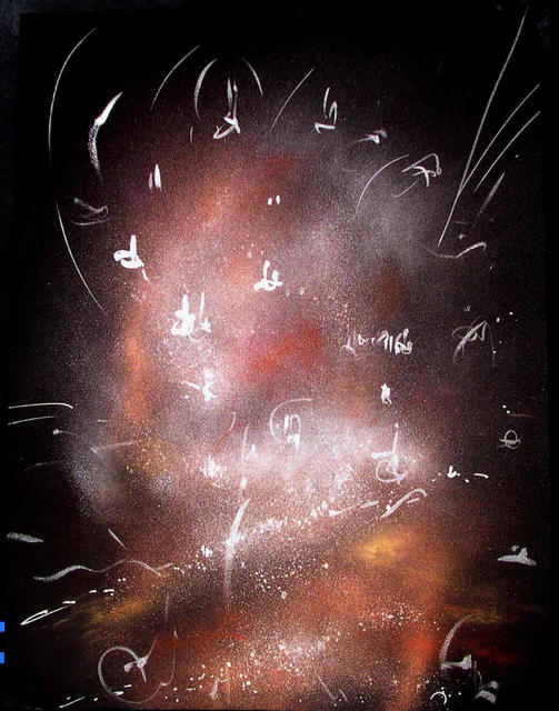 Richard Lazzara  'TATPURUSA LINGAM', created in 1986, Original Pastel.