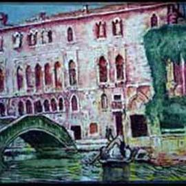 Richard Lazzara: 'Venetia Lazzara Giustiniani Palazzo', 2004 Other Painting, Culture. Artist Description: Venetia Lazzara Giustiniani Palazzo 2004 from the folio