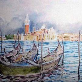 Richard Lazzara: 'Venetia Lazzara San Giorgio Maggiore', 2004 Other Painting, Culture. Artist Description: Venetia Lazzara San Giorgio Maggiore from the folio