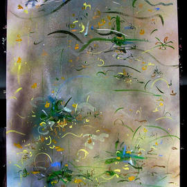 WATER LILIES  By Richard Lazzara