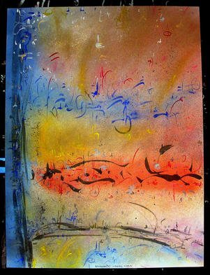 Richard Lazzara Artwork WEAVER KABIR, 1985 Mixed Media, Inspirational