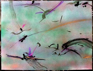 Richard Lazzara Artwork ZEN PRACTICE, 1984 Mixed Media, Inspirational