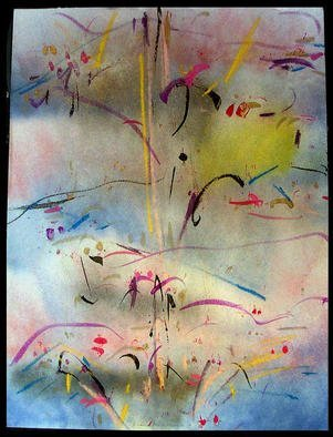 Artist: Richard Lazzara - Title: ZIPPING IT UP - Medium: Calligraphy - Year: 1984