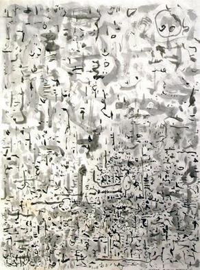 Artist: Richard Lazzara - Title: ambrosia - Medium: Calligraphy - Year: 1975