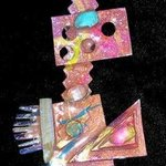 big eyed pin ornament By Richard Lazzara